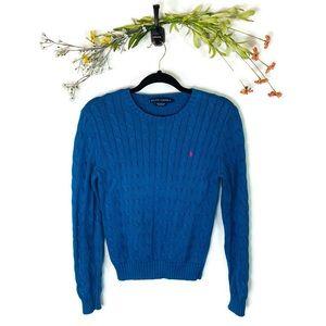 Ralph Lauren | Cable Knit Sweater Women's Medium